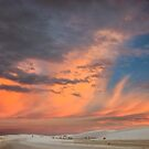 Pastels Brilliant White Sunset by Owed to Nature