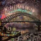 What a Blast - Sydney New Years Day 2015 # 4 by Philip Johnson