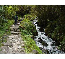The Inka Trail Photographic Print