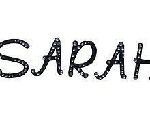 Sarah Jewel Name by Sarah333