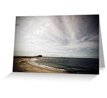 Nobbys Beach, Newcastle Greeting Card