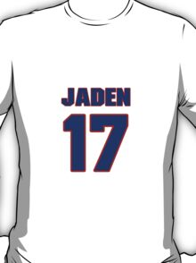 National Hockey player Jaden Schwartz jersey 17 T-Shirt