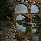 The Pont du Gard by Murray Swift