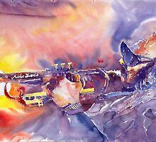 Jazz Miles Davis ELECTRIC 1 by Yuriy Shevchuk