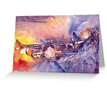 Jazz Miles Davis ELECTRIC 1 Greeting Card