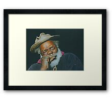 Grandpa Elliott Framed Print