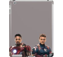 Iron Man and Captain America  iPad Case/Skin
