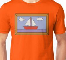 Sail Boat Artwork Unisex T-Shirt