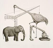 Tusk & Crane Construction by Zac Brennan