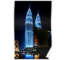 Towering Reflections Poster