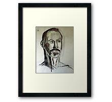 Life Portrait Framed Print