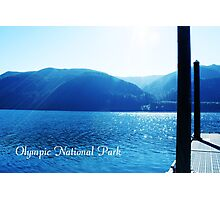 Olympic National Park landscape photography. Photographic Print