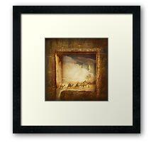 Caravanserei Framed Print