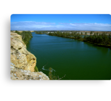The Murray River Canvas Print