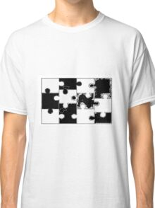 Fill in Puzzle Classic T-Shirt