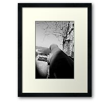 Big Guns Framed Print