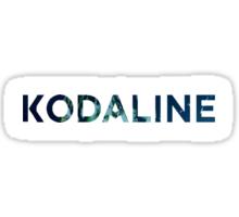 Kodaline 2015 Sticker