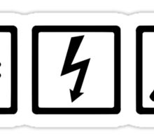 Electrician equipment Sticker