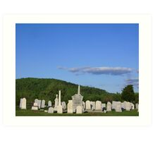 Country Cemetary Art Print