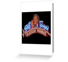""" I just wanna say one thing.....God Bless America!"" Greeting Card"