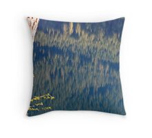 """Lake Reflections"" Throw Pillow"