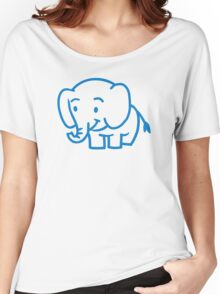 Cute elephant Women's Relaxed Fit T-Shirt