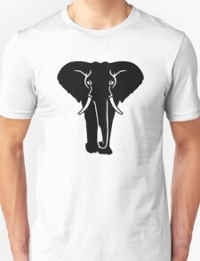 Black elephant T-Shirt