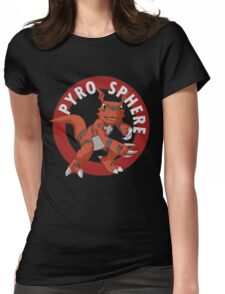 Pyro Sphere Womens Fitted T-Shirt