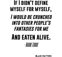Audre Lorde Photographic Print