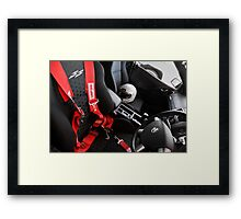 Race Day Framed Print