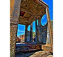Train Parts Photographic Print