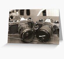 Nikon/Pentax Greeting Card