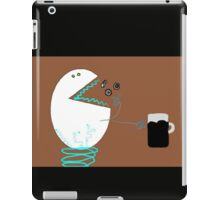Hungry robot iPad Case/Skin