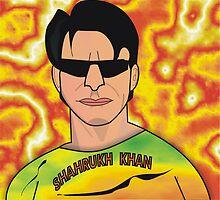 Shahrukh Khan by artyrau