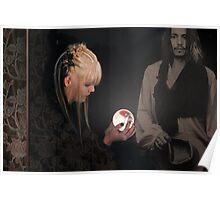 Elise conjures up Johnny Poster