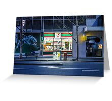 7Eleven Queen Street Greeting Card