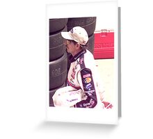Dale Sr. Greeting Card