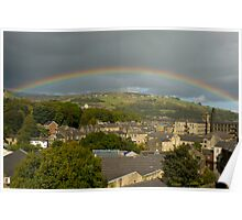 West Yorkshire Rainbow Poster