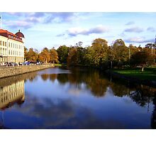 Autumn Reflections in Sweden Photographic Print