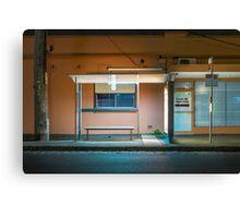 Albion Street Bus Stop Canvas Print
