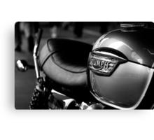 Triumph Motorbike Canvas Print