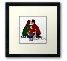Jily She Hated Him Framed Print