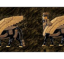 ALADLAMMU ASSYRIAN WING MAN BULL MUG by ✿✿ Bonita ✿✿ ђєℓℓσ