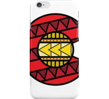 Colorado Tribal Flag: Red + Yellow iPhone Case/Skin