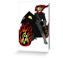 Ghost Rider Celtic Colored Greeting Card