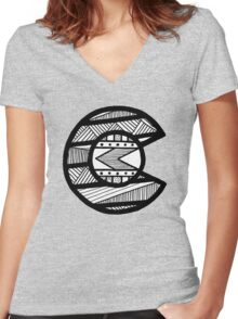 tribal colorado  Women's Fitted V-Neck T-Shirt