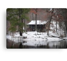 Heaven on earth Rustic Cabin Print, Poster, Cases, Skin, Tote, Pillow Canvas Print