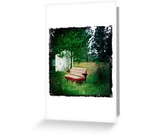 Rural Life by Denise Sallee Greeting Card