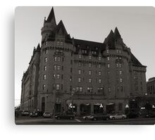The Chateau Laurier Hotel, Ottawa  Canvas Print