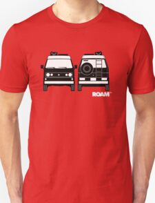 ROAM  Syncro 4x4 Dirtbag Motel Unisex T-Shirt